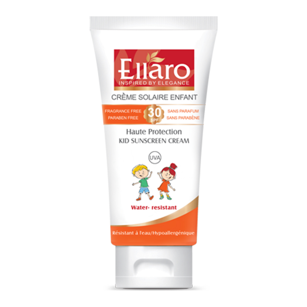 elllaro kid sunscreen cream 50 ml